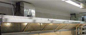 هود استیل شیبدار-آشپزخانه صنعتی