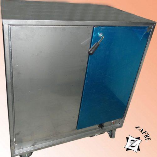 گرمخانه دو درب تجهیزات رستوران