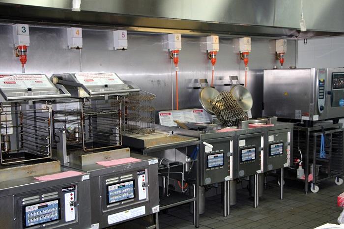 خط تولید مرغ کنتاکی