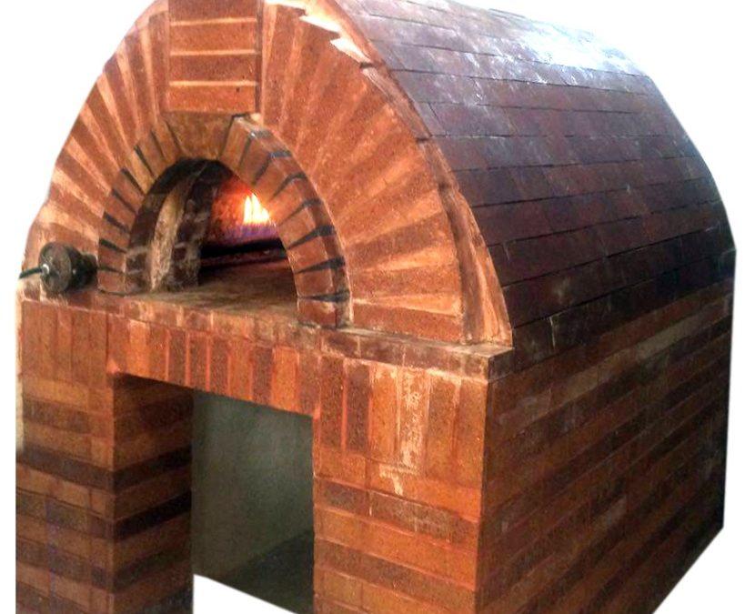 ساخت تنور پیتزا با آجر نسوز